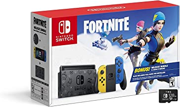 Nintendo Switch Wildcat Bundle - Holiday Family Set Fort nite Special Edition 32GB Console - Yellow and Blue Joy-Con - 6.2...