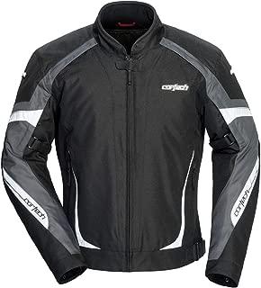 Cortech VRX 2.0 Men's Textile Street Motorcycle Jacket - Black/Gunmetal Medium
