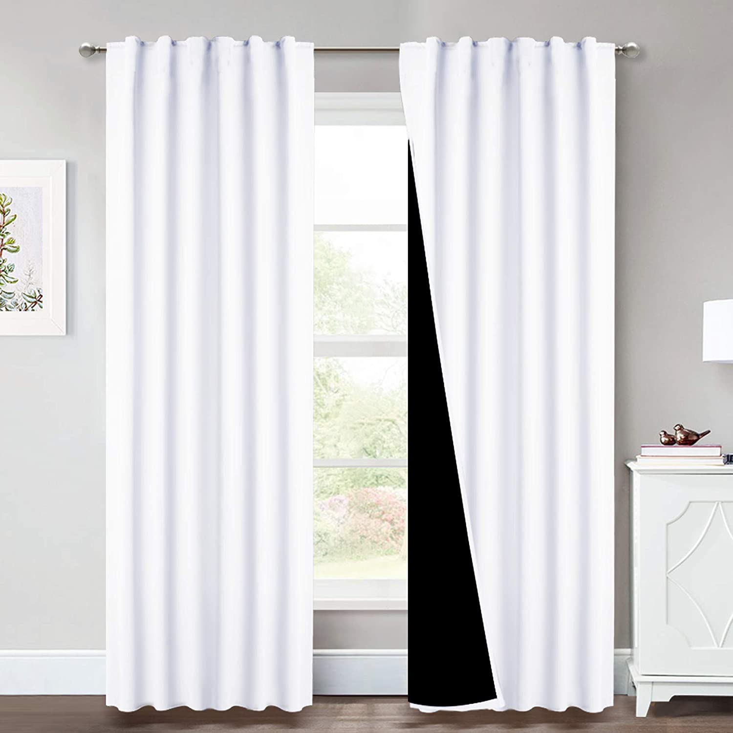 Ranking TOP6 100% quality warranty! NICETOWN 100% Blackout Window Curtain Full and Panels Heat Ligh