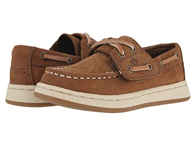Sperry Kids Cup II Boat Jr. (Toddler/Little Kid) (Brown) Boys Shoes