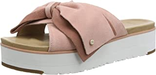 Sandalo UGG in Pelle Lucida Con Fascia I