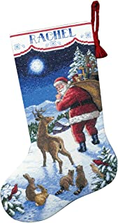 Best cross stitch christmas stocking finished Reviews