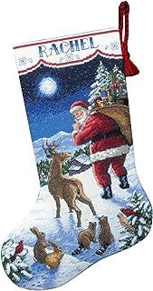 long stitch needlepoint christmas stocking kits