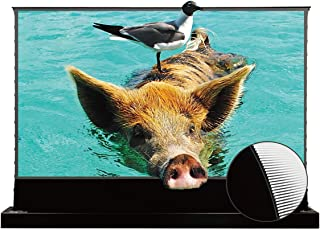 Sponsored Ad – VIVIDSTORM S PRO UST Laser Projector Screen Black Housing Motorized Floor Rising Screen 72'' ALR Screen