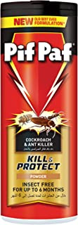 Pif Paf Cockroach and Ant Killer, Crawling Insect Killer Powder, 100g