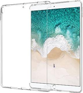 ATiC iPad Pro 10.5用ケース プレミアム品質 ソフト 透明 TPUゴム製 バックカバー スキン 優れた柔軟性 バンパー Apple iPad Pro 10.5インチ 2017年モデル タブレット クリスタルクリア iPad Pr...