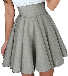Womens Party Cocktail Mini Skirt Ladies Summer Skater Skirt