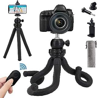 Naohiro Trípode para cámara de teléfono GoPro, portátil