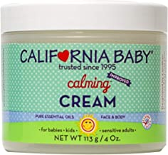product image for California Baby Calming Moisturizing Cream (4 oz.) Hydrates Soft, Sensitive Skin | Plant-Based, Vegan Friendly | Soothes irritation caused by dry skin on Face, Arms and Body.