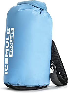 IceMule 1005 Classic Medium Collapsible Portable Soft Sided Roll Top 15 Liter 12 Can Lightweight Insulated Waterproof Leak Pr