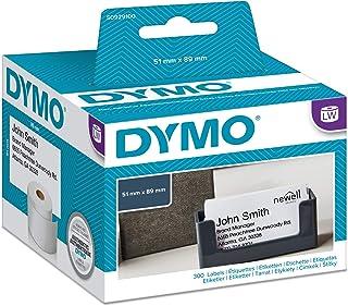 Dymo S0929100 Cardstock (5 cm x 8,9 cm) 300 Stück pro Rolle weiß