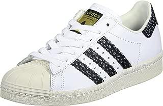 Originals Men's ' Superstar 80s Shoes, White/Vapour Green/Off White, 8 M US