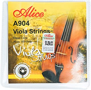 """Alice Viola Strings Steel Core with Al-Mg Winding and Cupronickel Winding for 16"""" Violas"""