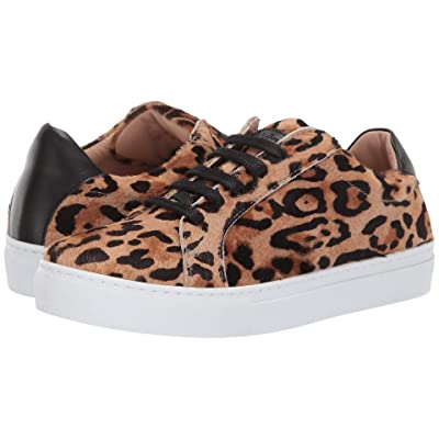L.K. Bennett Jack Leopard Trainers (Natural Black) Women