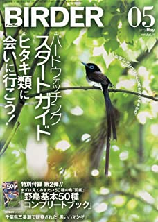 BIRDER (バーダー) 2013年 05月号 バードウォッチングスタートガイド/ヒタキ類に会いに行こう!【特別付録 野鳥基本50種コンプリートブック】付き