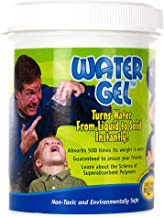 Steve Spangler's Water Gel, 100g Jar, Sodium Polyacrylate, Make Water Disappear!