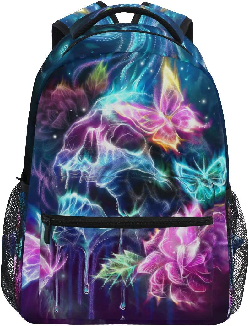 KEIGE Skull 国際ブランド Butterfly Backpack Sugar School 数量限定アウトレット最安価格 Bookba Skeleton Kids