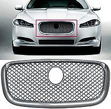 Chrome Upper Grille Front Center Grill for Jaguar XF XFR 2012 2013 2014 2015