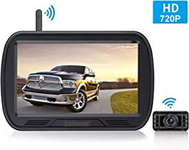 HD Digital Wireless Backup Camera System 5 Inch TFT Monitor for..