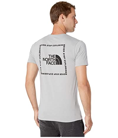 The North Face Short Sleeve Archived Tri-Blend Tee (TNF Light Grey Heather) Men