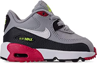 Air Max 90 LTR TD Kids Wolf Grey/Rush Pink/Volt/White 833416-028