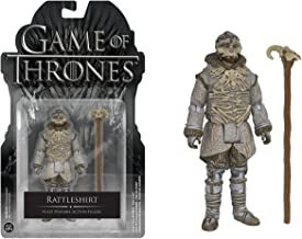 Rattleshirt: Funko x Game of Thrones Mini Action Figure + 1 Official Game of Thrones Trading Card Bundle