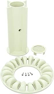 Zodiac 4-2-403 奶油色地板储物盖带螺丝更换