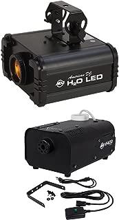 Package: American DJ H20 LED IR Multi Color DJ Light W/Water Flowing Effect and + American DJ VF400 Portable/Mini 400 Watt Fog Machine