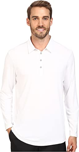 adidas Golf CLIMACOOL® UPF Long Sleeve Polo
