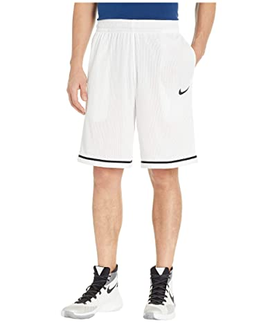 Nike Dry Classic Shorts (White/Wolf Grey/Black) Men