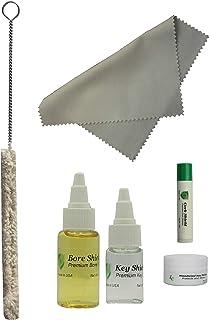 Clarinet Care Kit, Bore Oil, Key Oil, Polishing Cloth, Cork Grease, Cotton Swab, Fits Bb Clarinets