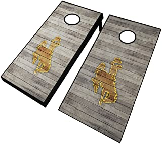 NCAA Distressed Cornhole Set with Bags