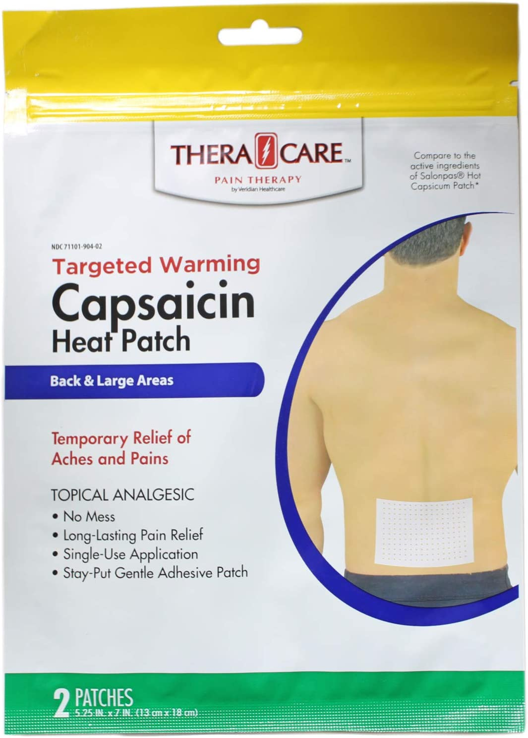 Thera Care Capsicum Hot Patch 2 Value of 12 Pack Raleigh At the price of surprise Mall Count