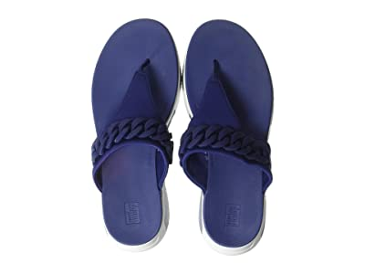 FitFlop Heda Chain Toe-Thong (Midnight Navy) Women