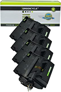 GREENCYCLE High Yield Toner Cartridge Q5945A 45A Compatible for HP Laserjet 4345, 4345mfp, 4345x MFP, 4345xm MFP, 4345xs MFP, M4345 MFP, M4345x MFP, M4345xm MFP, M4345xs MFP (4 Black)