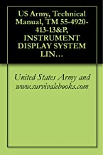 US Army, Technical Manual, TM 55-4920-413-13&P, INSTRUMENT DISPLAY SYSTEM LINE TEST SET 476-853, (NSN 4920-01-112-5906),