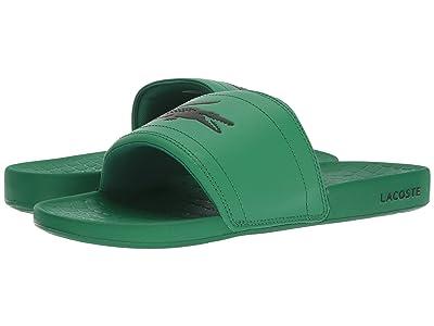 Lacoste Fraisier 118 1 US (Green/Black) Men