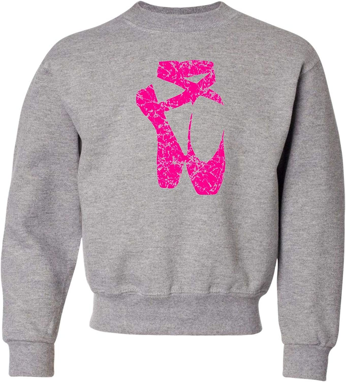 Go All Out Sale price Youth Ballet Distressed Print Crewneck S Shoes Popularity Pointe