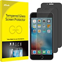JETech Privacy Screen Protector for Apple iPhone 7 and iPhone 8, Anti-Spy Tempered Glass Film, 2-Pack
