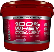Scitec Nutrition Protein 100% Whey Protein Professional, aardbei, 5000 g
