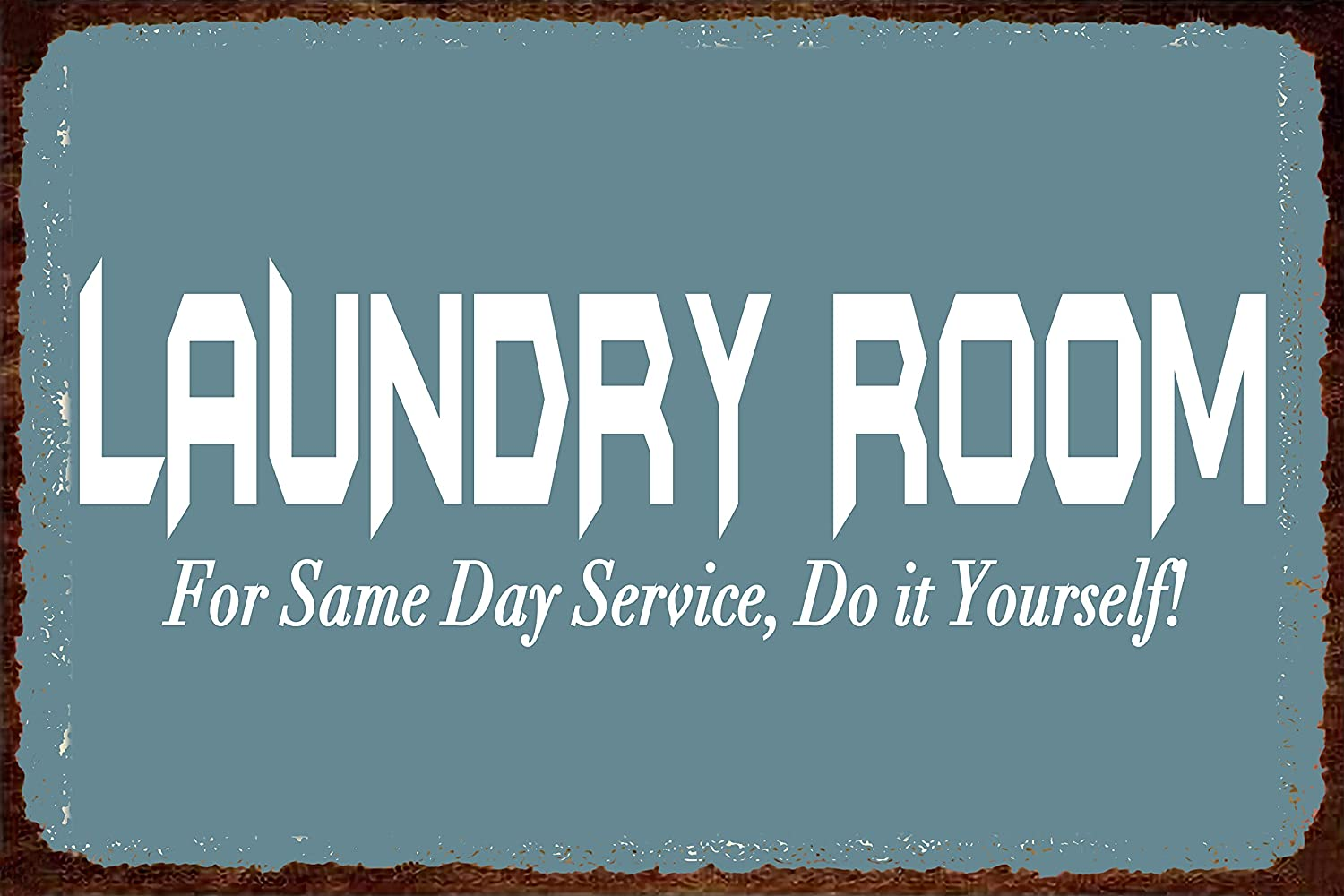 SOULEAK Vintage Laundry Signs Ranking TOP3 Room Day Service for Same Excellence