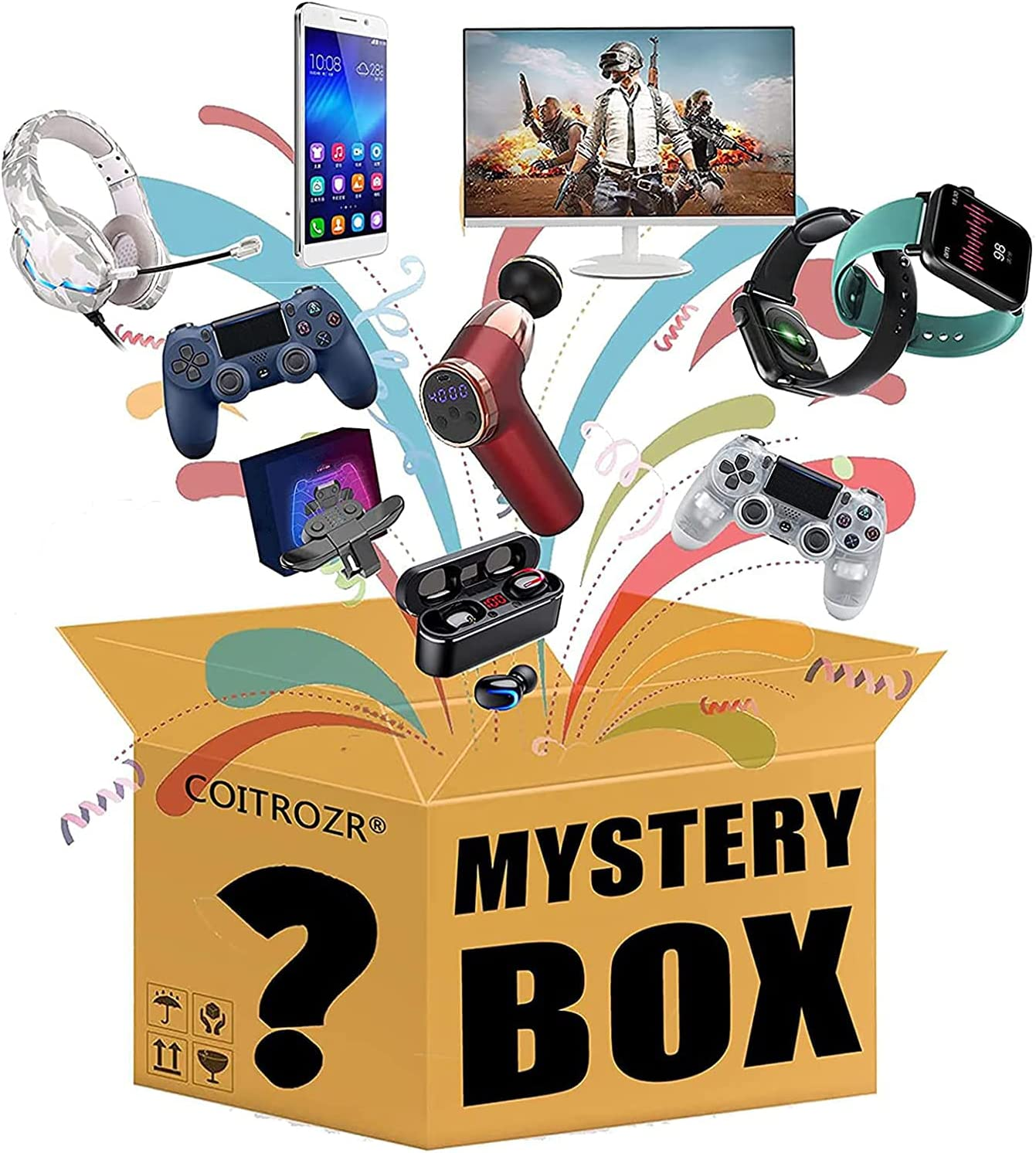 New item Mystery Box Electronic New Free Shipping Lucky Boxes Blind Super Coste