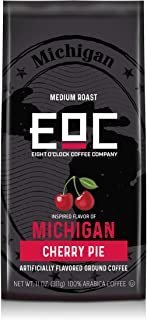 Eight O'Clock Coffee Flavors of America, Michigan Cherry Pie, 11 Ounce