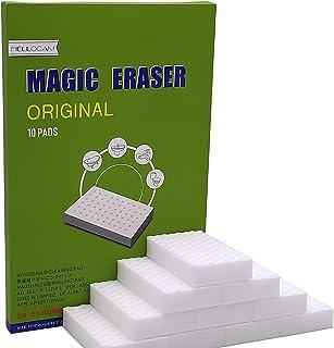 comprar comparacion HELLOCAM Borrador magico Esponja Magica Almohadilla Quita Manchas - Natural Eco Blanca Puede ser Cortado a la Medida