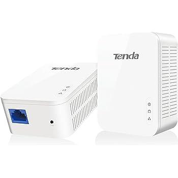 Tenda AV1000 1-Port Gigabit Powerline Adapter, Up to 1000Mbps (PH3),White
