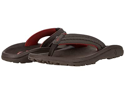 OluKai Kids Hokua (Toddler/Little Kid/Big Kid) (Dark Java/Dark Java) Boy