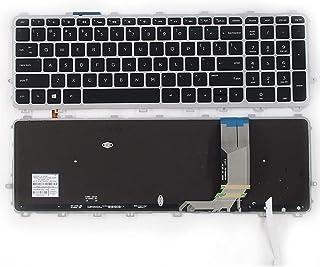 SUNMALL Laptop Keyboard Replacement Compatible with HP Envy 15-J 17-J 15-j000 15-j100 15t-J000 15t-j100 15z-j000 17-j000 1...