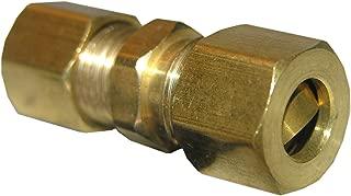 LASCO 17-6211 1/4-Inch Compression Brass Union