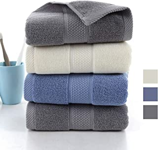 4 Pack Cotton Hand Towels,100% Cotton Face Towels, Durable Highly Absorbent Soft Washcloth Towel for Premium Luxury Spa Ho...