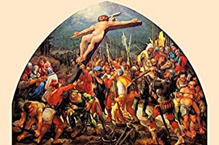 Buyenlarge Lifting The Crucifix - Gallery Wrapped 24